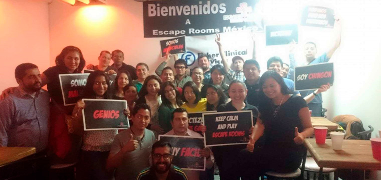 Paquetes para empresas. Escape Rooms México